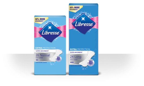 Libresse Extra Protection inlegkruisje