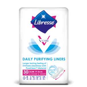 V-Care Daily Purifying Longer & Wider Slim Liners