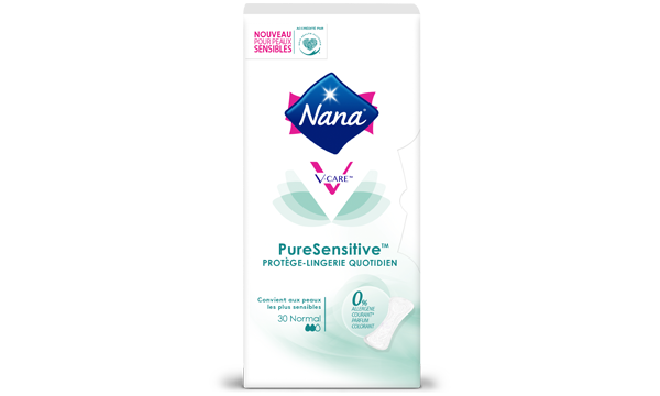 Nana PureSensitive™ protège-lingerie quotidien normal